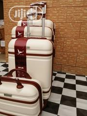 Creamy Colored Suite Case Trolley Luggage Bags (4 Sets) | Bags for sale in Lagos State, Ikeja