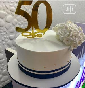 Prime 50Th Birthday Cake In Agboyi Ketu Party Catering Event Personalised Birthday Cards Vishlily Jamesorg