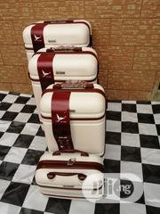 Designer Cream Color, Trolley Suite Case Bags (4 Sets) Available | Bags for sale in Lagos State, Ikeja