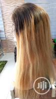 Two Toned Straight Human Hair Wig With Full Closure   Hair Beauty for sale in Ikeja, Lagos State, Nigeria