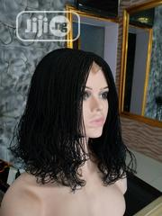 Handmade Curly Braided Wig With Closure | Hair Beauty for sale in Lagos State, Ikeja
