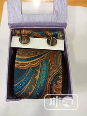 Set of Vintage Designers Tie With Cufflinks | Clothing Accessories for sale in Lagos State, Lagos Island