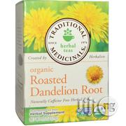 Traditional Medicinals, Herbal Teas, Organic Roasted Dandelion Root | Vitamins & Supplements for sale in Lagos State