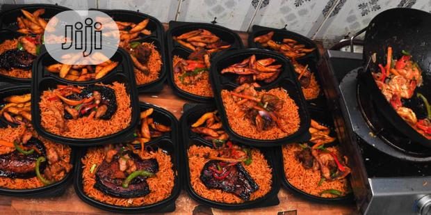 Special Basmati Jollof Rice Served With Grilled Chicken/Lamb/Fish