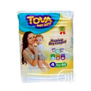 Tova Maxi Diapers Jumbo Size 4(80) X 3 | Baby & Child Care for sale in Lagos State, Ikeja