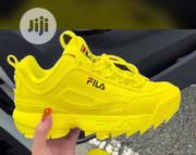 Fila Snickers In Yellow And White | Shoes for sale in Lagos State, Lagos Island