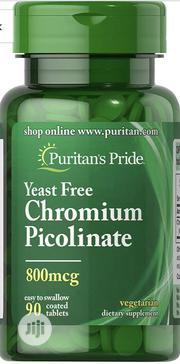Chromium Picolinate 800 Mcg Yeast Free-90 Tablets   Vitamins & Supplements for sale in Lagos State, Lekki Phase 1