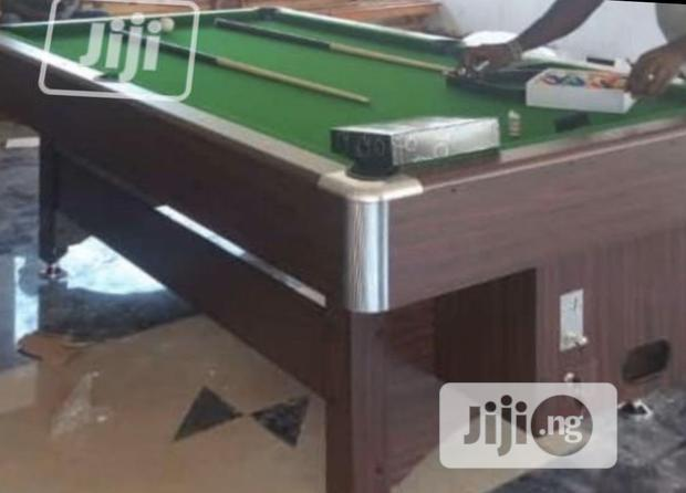Coin Operated Snooker Pool Table