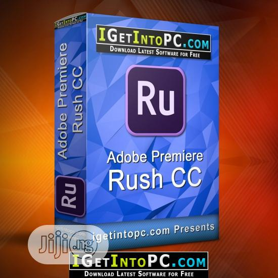 Archive: Adobe Premiere RUSH For Teams Team New 1 User Level 1 Subscription