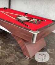 Curved Snooker Board With Complete Accessories   Sports Equipment for sale in Lagos State, Apapa