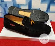 Quality Men's Clarks Designers Loafer Suede Shoes in Black | Shoes for sale in Lagos State, Lekki Phase 1