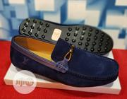 Quality Men's Louis Vuitton Designers Suede Loafer Shoes in Blue | Shoes for sale in Lagos State, Lekki Phase 1