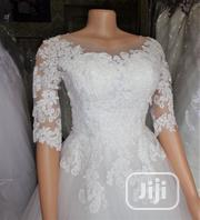 Ball Wedding Gown for Rent With Veil,Basket, Tiara Bouquet | Wedding Wear for sale in Lagos State