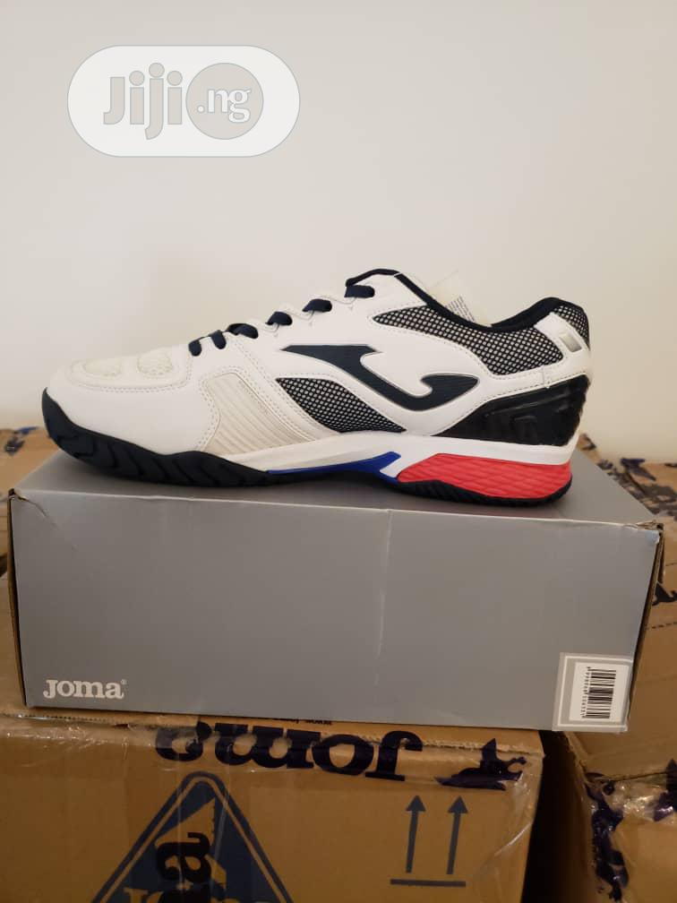 Joma - White Black Trainers | Shoes for sale in Lekki Phase 1, Lagos State, Nigeria