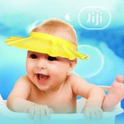 Adjustable Kids and Baby Shower Cap - Yellow | Children's Clothing for sale in Lagos State