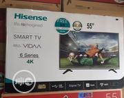 "Standard Quality 55"" HISENSE 4k Smart Digital TV With Warranty 