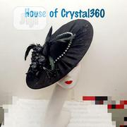 Black and Bold Fascinator | Clothing Accessories for sale in Anambra State, Awka
