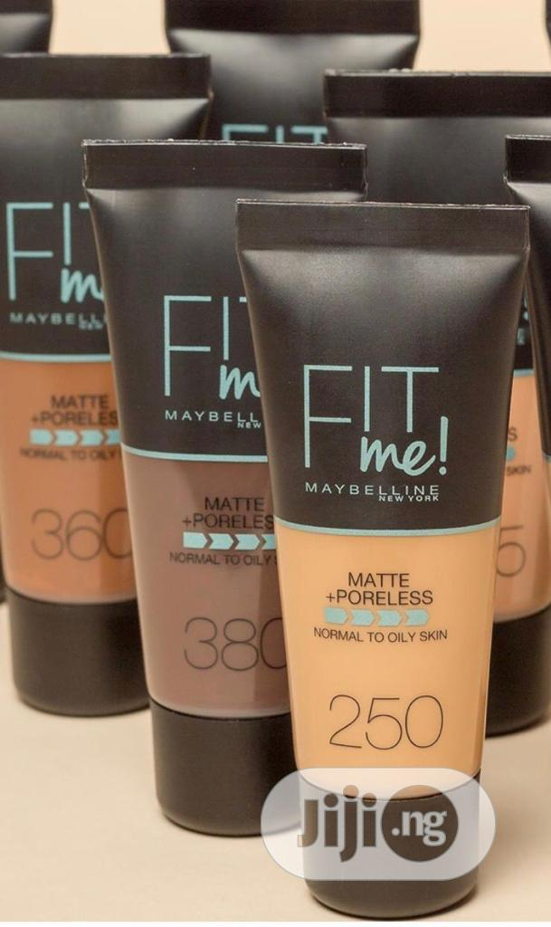 Maybelline Fit Me Tube Foundation