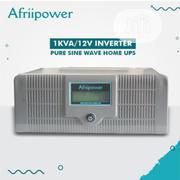 AFRIIPOWER 1KVA/12V Pure Sine Wave Home UPS/Inverter | Solar Energy for sale in Oyo State, Ibadan