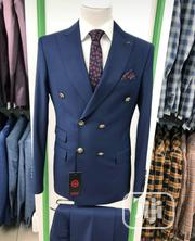 Original Turkish Brands Navy Blue Double Breasted Suits by MC | Clothing for sale in Lagos State, Lagos Island
