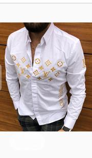 New Louis Vuitton Men Collar Shirts | Clothing for sale in Lagos State, Lagos Island
