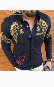 New Men Versace Blue Shirt | Clothing for sale in Lagos State, Lagos Island