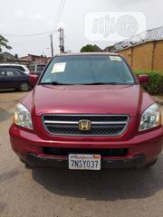 Honda Pilot 2003 EX 4x4 (3.5L 6cyl 5A) Red | Cars for sale in Lagos State, Ikeja