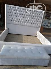 6x6 Bedframe Made With Imported Wooding Material   Furniture for sale in Lagos State, Ojo