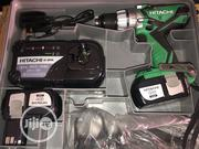 Hitachi Cordless Drilling Machine 18vts With Two Batteries | Electrical Tools for sale in Lagos State, Lagos Island