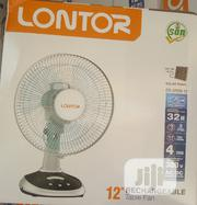 Lontor Recheagable Table Fan | Home Appliances for sale in Lagos State, Lagos Island
