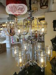 Double Step Chandelier With Bulbs | Home Accessories for sale in Lagos State, Ojo
