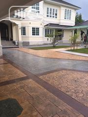 Increte/Decorative Stamped Concrete Floor In Ajah | Building & Trades Services for sale in Lagos State, Ajah