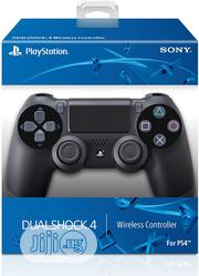 Sony Ps4 Dualshock Wireless Controller With 3 Months Warranty   Accessories & Supplies for Electronics for sale in Lagos State, Ikeja