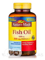 Nature Made - Omega-3 Fish Oil X 140 Capsules | Vitamins & Supplements for sale in Lagos State, Gbagada