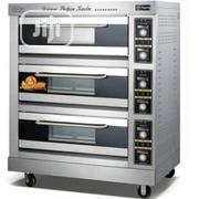 Universal Chef Commercial Electric Oven 3 Layer 9 Trays Oven | Industrial Ovens for sale in Lagos State, Ojo