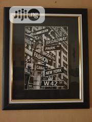 """""""NYC Manhattan Street Sign"""" Art Decor 