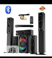 Bluetooth Home Theatre System Emgold Spec: 5.1 Speaker, Long | Audio & Music Equipment for sale in Lagos State, Yaba