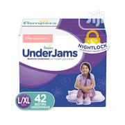Pampers Underjams Bedtime Pants For Teen Girls L/XL (42ct) | Baby & Child Care for sale in Lagos State, Ikeja
