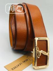 Genuine 100% Leather Belts for Men | Clothing Accessories for sale in Lagos State, Lagos Island