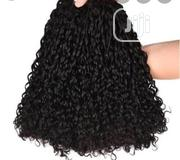 Double Drawn Pixie Curl 12inches 300grams With Closure   Hair Beauty for sale in Lagos State, Amuwo-Odofin