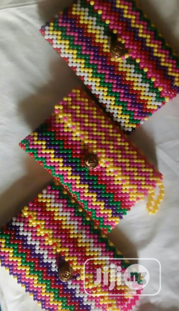 Archive: Lady's Designers Bead Hand Bags, Purse With Multiple Colours.