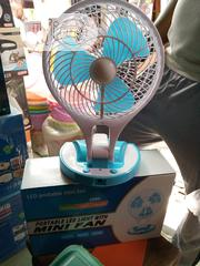 Mini Table Rechargeable Fan | Home Appliances for sale in Lagos State, Lagos Island
