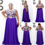 New Turkey Female Blue Dinner Flare Long Gown | Clothing for sale in Lagos State, Amuwo-Odofin