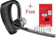 Plantronics 87300-42 Bluetooth Headset + Free Sandisk Flash Drive | Accessories for Mobile Phones & Tablets for sale in Lagos State, Ikeja