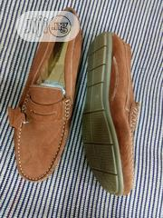 Original Men's Suede Shoes Brown And Blue | Shoes for sale in Lagos State, Lekki Phase 1