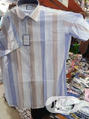Pure Italian Men Short Sleeve Shirts | Clothing for sale in Lagos State, Surulere