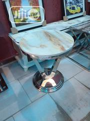 High Quality Imported Round Marble Side Stool | Furniture for sale in Lagos State, Ojo