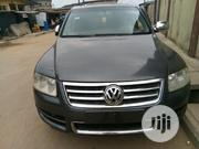 Volkswagen Touareg 2005 3.2 V6 Automatic Gray | Cars for sale in Lagos State, Mushin