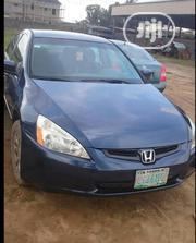Honda Accord 2003 2.2 D Blue | Cars for sale in Lagos State, Ojo