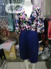 Floral Plitted Dress Gown | Clothing for sale in Lagos State, Oshodi-Isolo